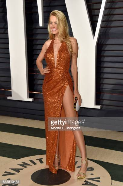 Model Petra Nemcova attends the 2017 Vanity Fair Oscar Party hosted by Graydon Carter at Wallis Annenberg Center for the Performing Arts on February...