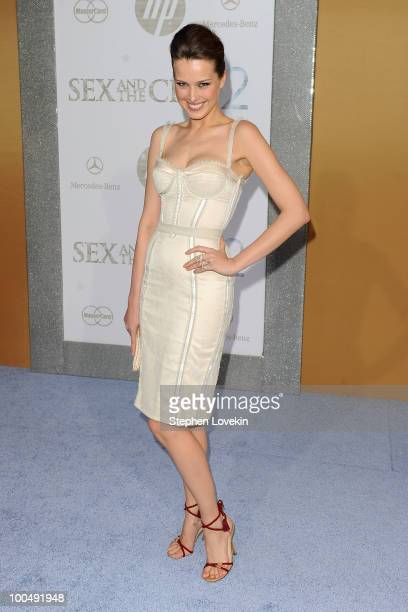 Model Petra Nemcova attends the premiere of Sex and the City 2 at Radio City Music Hall on May 24 2010 in New York City