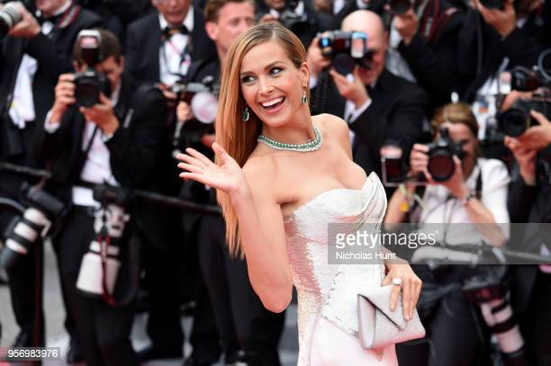 Model Petra Nemcova attends the screening of 'Sorry Angel ' during the 71st annual Cannes Film Festival at Palais des Festivals on May 10 2018 in...
