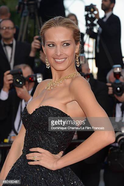 Model Petra Nemcova attends the 'Two Days One Night' premiere during the 67th Annual Cannes Film Festival on May 20 2014 in Cannes France