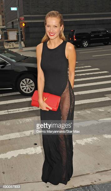 Model Petra Nemcova is seen on May 12 2014 in New York City