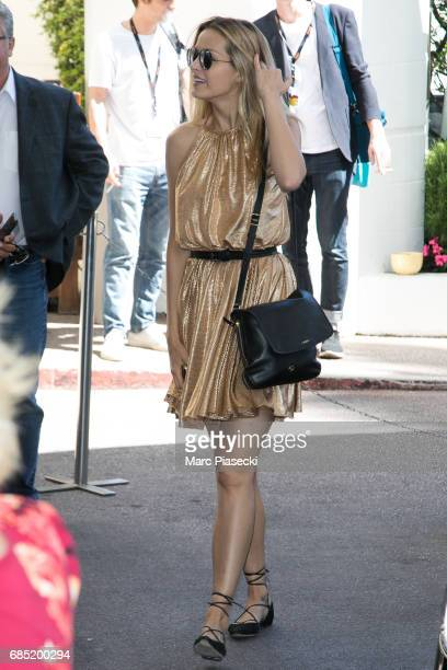 Model Petra Nemcova is spotted during the 70th annual Cannes Film Festival at on May 19 2017 in Cannes France