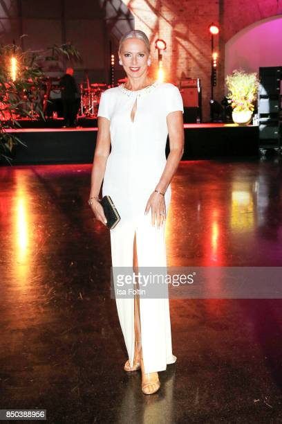 Model Petra van Bremen attends the Dreamball 2017 at Westhafen Event Convention Center on September 20 2017 in Berlin Germany