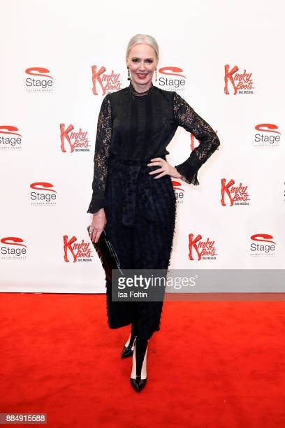 Model Petra van Bremen attends the 'Kinky Boots' Musical Premiere at Stage Operettenhaus on December 3 2017 in Hamburg Germany