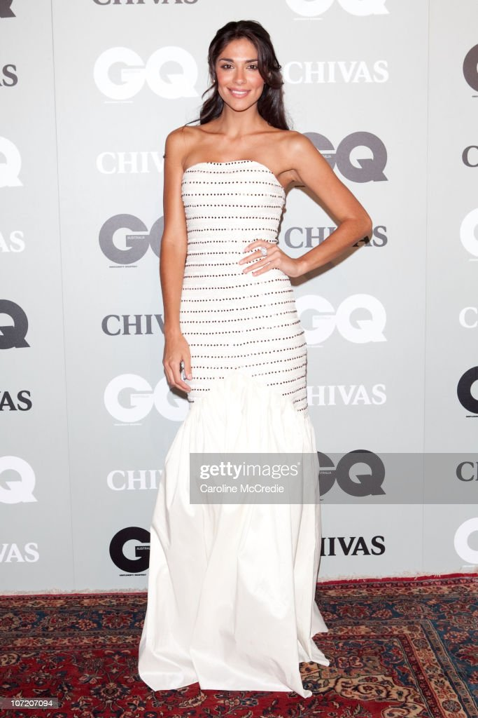 Model Pia Miller arrives at the 2010 GQ Men of The Year Awards at the Sydney Opera House on November 30, 2010 in Sydney, Australia.