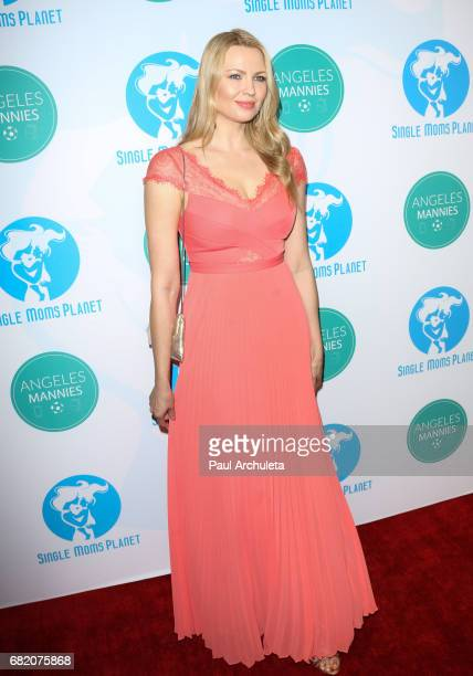 Model / Playboy Playmate Irina Voronina attends the Single Mom's Awards at The Peninsula Beverly Hills on May 11 2017 in Beverly Hills California