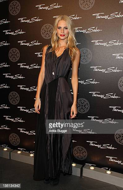 Model Poppy Delevingne attends the Thomas Sabo Launch Party at Goya on December 6 2011 in Berlin Germany