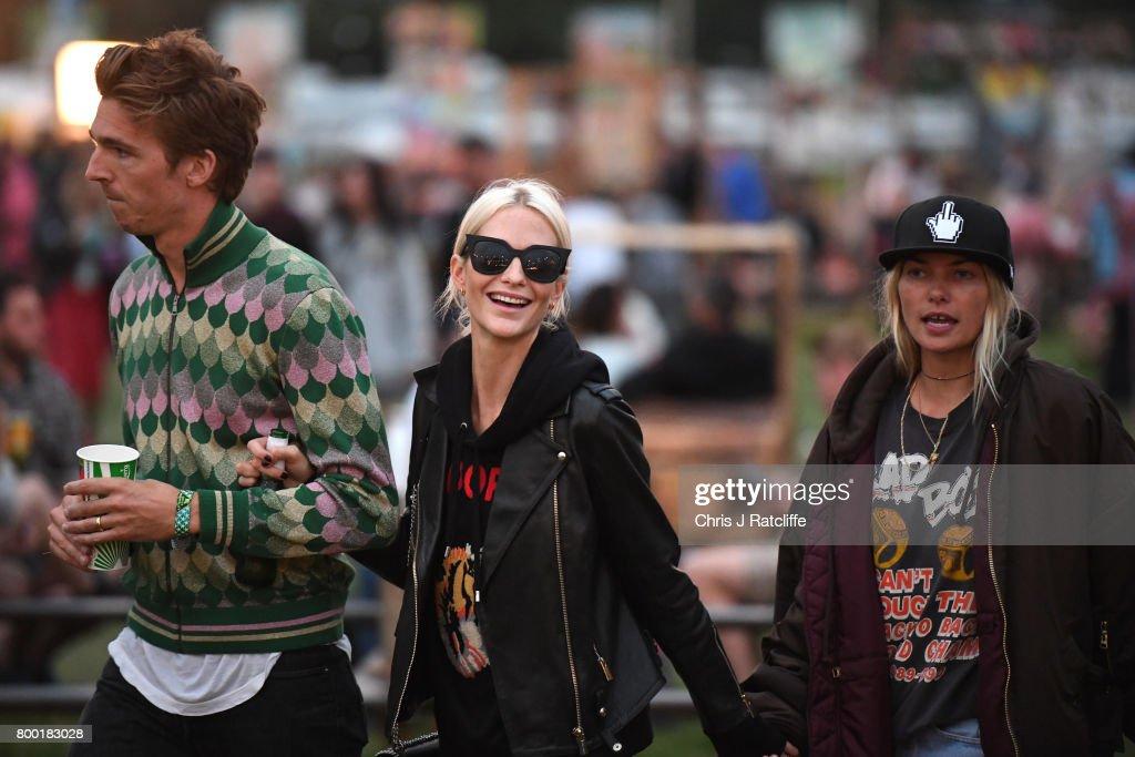 Glastonbury Festival Sightings - 2017