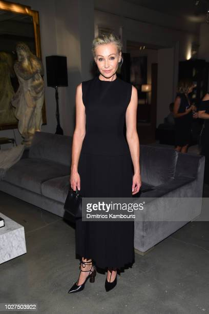 Model Portia de Rossi attends as RH Restoration Hardware celebrates the unveiling of RH New York at Restoration Hardware on September 5 2018 in New...