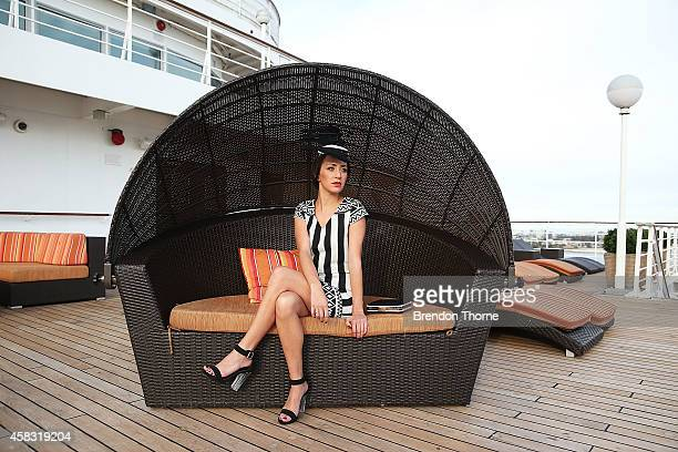 A model poses aboard Pacific Jewel following 'Myer Fashions on the Deck' on November 3 2014 in Sydney Australia In the biggest single injection of...