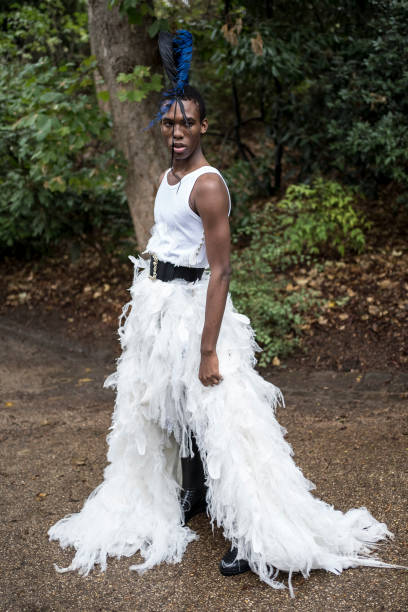 FRA: Koche : First Line At Jardin des Buttes Chaumont - Paris Fashion Week - Womenswear Spring Summer 2021