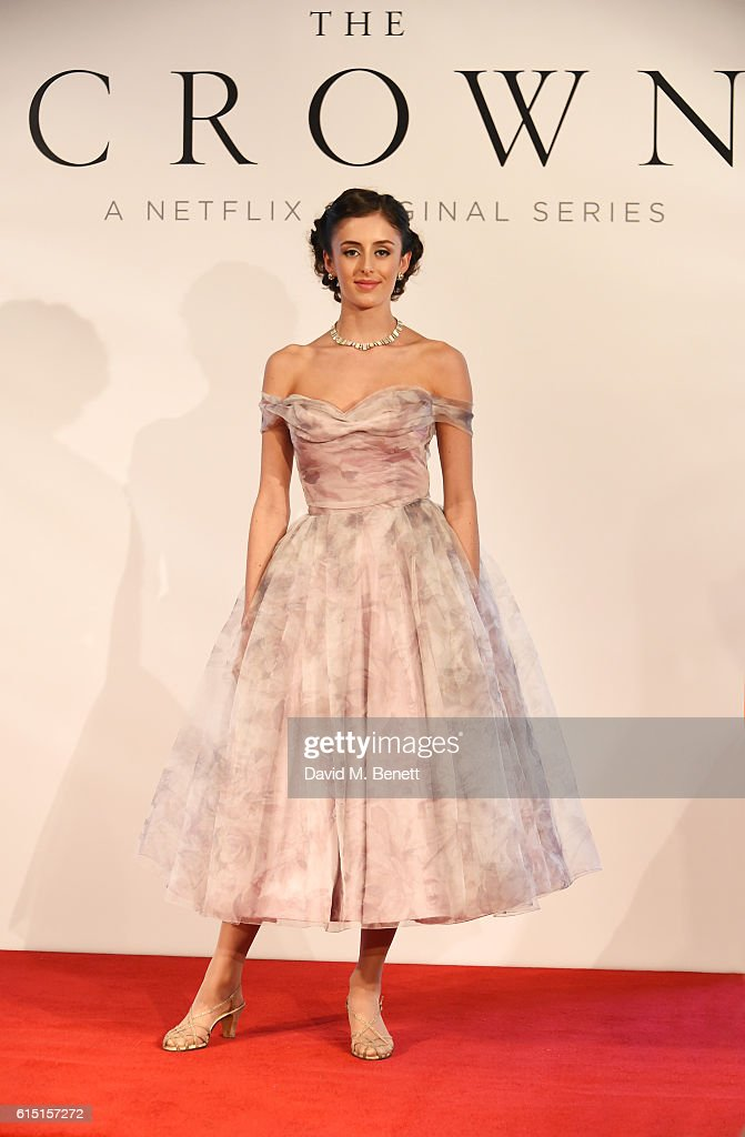 "Netflix Original Series ""The Crown"" Costume Presentation With Designer Michele Clapton : News Photo"