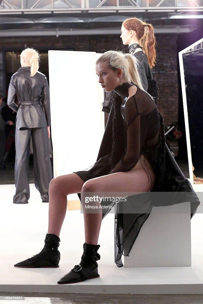 Collina Strada - Presentation - MADE Fashion Week Fall 2015 : News Photo