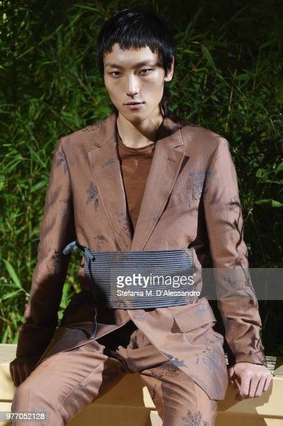 Kean Etro is seen at Etro presentation during Milan Men's Fashion Week Spring/Summer 2019 on June 17 2018 in Milan Italy