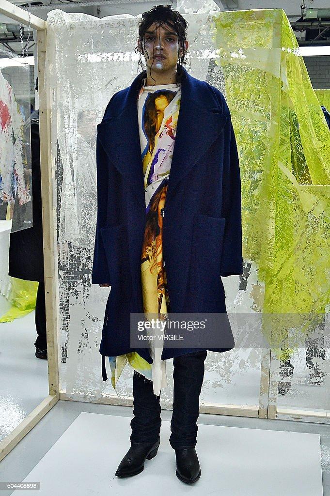 Alex Mullins - Presentation - London Collections Men AW16 : News Photo