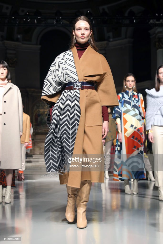 GBR: Johnstons of Elgin - Presentation - LFW February 2019