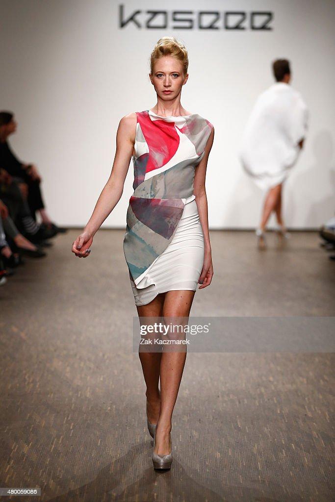 Kaseee Show - Mercedes-Benz Fashion Week Berlin Spring/Summer 2016 : Nachrichtenfoto