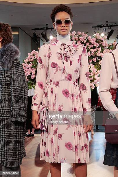 6520fe6a6ad8cb A model poses at the Kate Spade New York Presentation of Fall 2016 during New  York