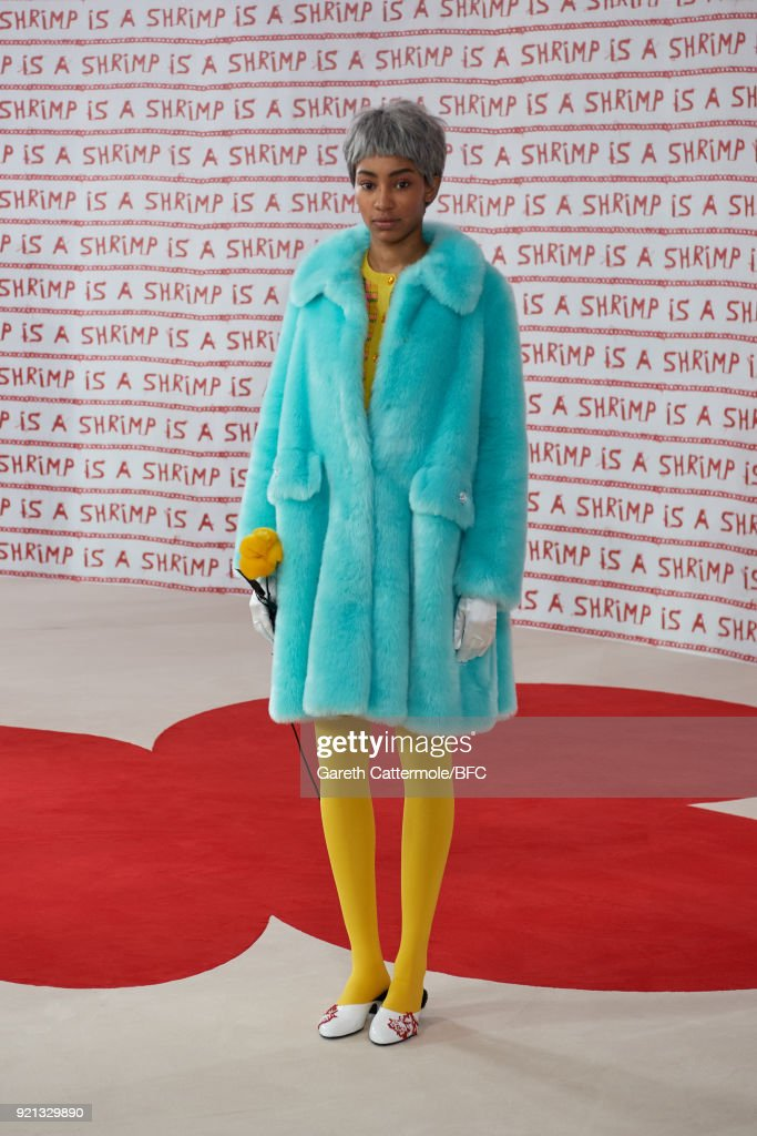 Shrimps Presentation - LFW February 2018
