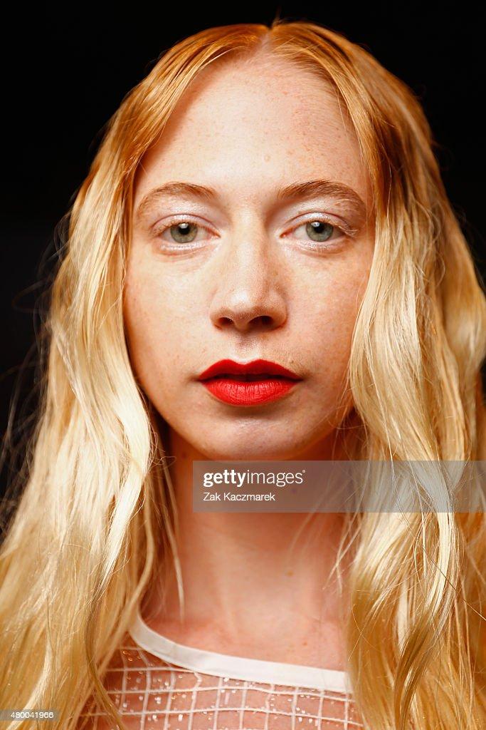 Steinrohner Show - Mercedes-Benz Fashion Week Berlin Spring/Summer 2016 : Nachrichtenfoto