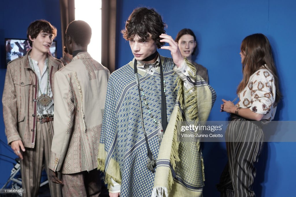 Etro - Backstage - Milan Men's Fashion Week Spring/Summer 2020 : ニュース写真