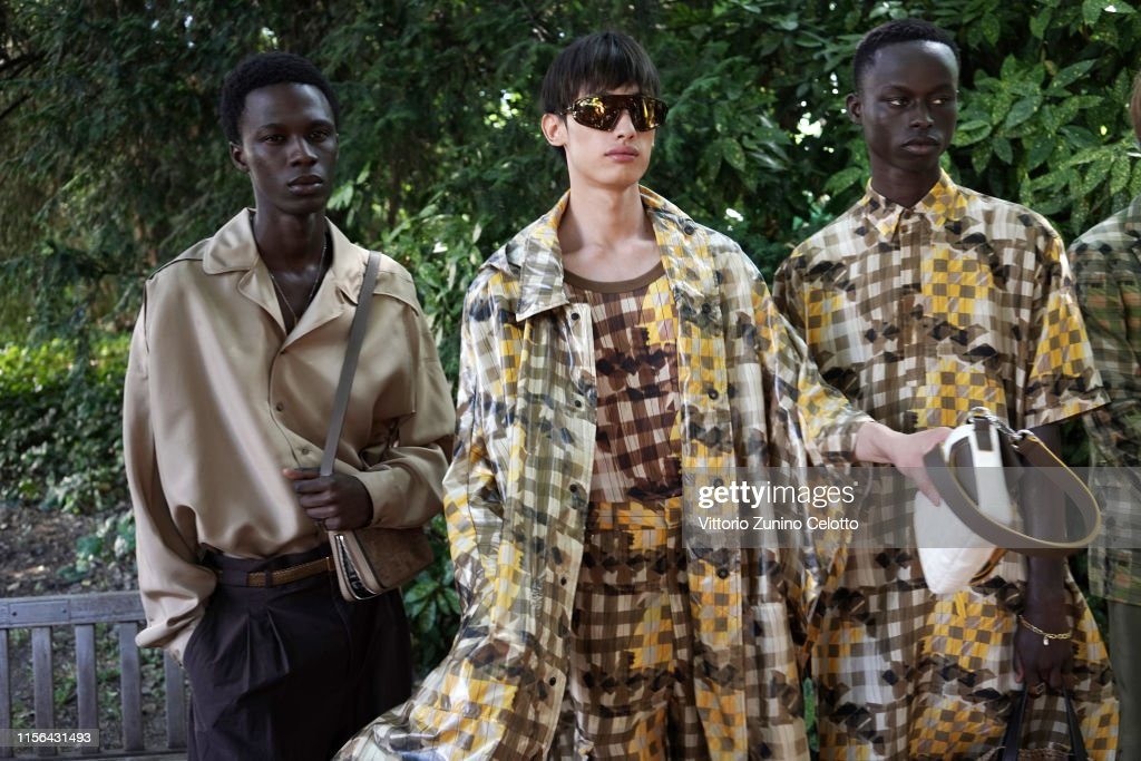 Fendi - Backstage - Milan Men's Fashion Week Spring/Summer 2020 : ニュース写真