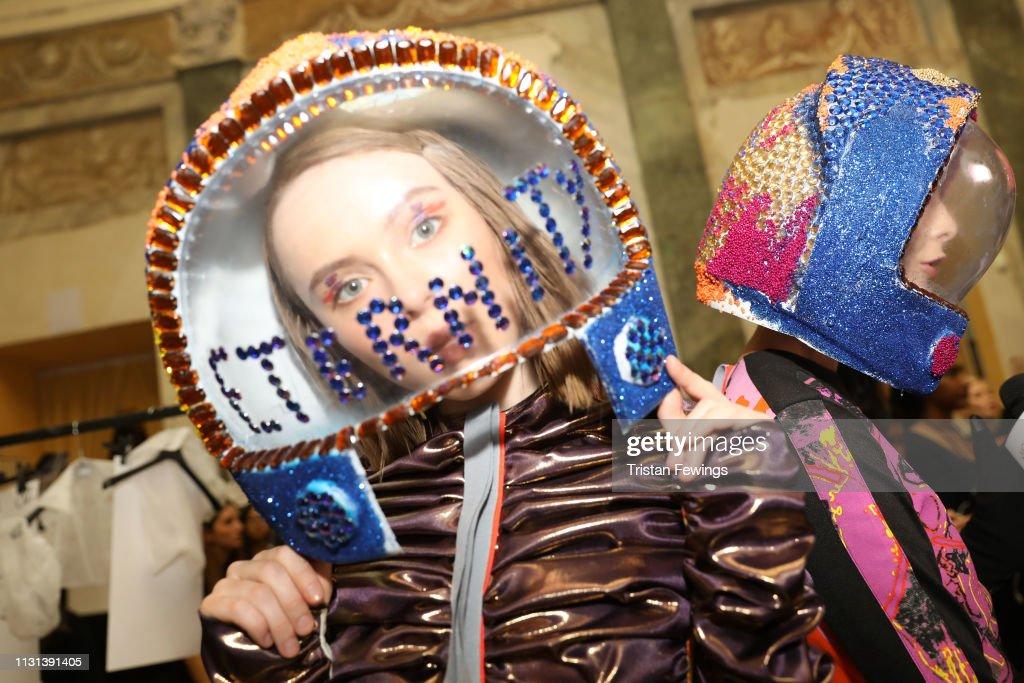 ITA: Francesca Liberatore - Backstage: Milan Fashion Week Autumn/Winter 2019/20