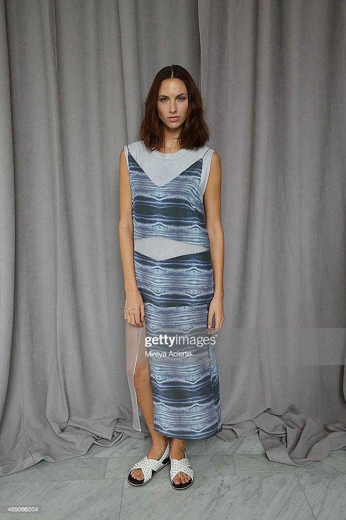 Collina Strada - Backstage- MADE Fashion Week Spring 2015 : News Photo