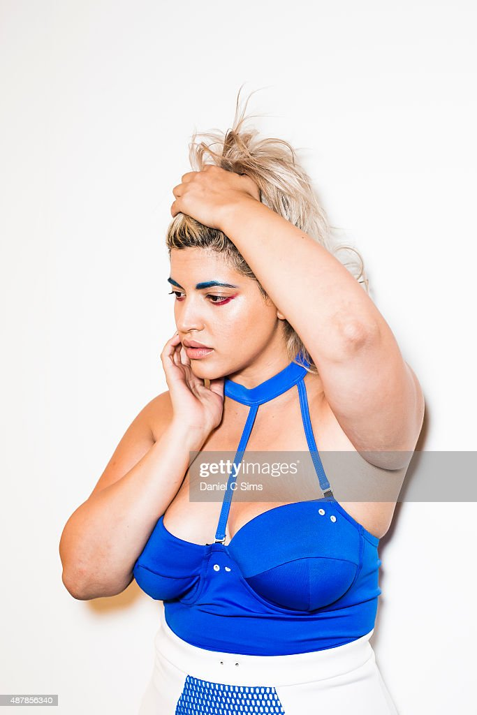 Chromat Featuring Intel Collaboration - Backstage - Spring 2016 MADE Fashion Week : News Photo