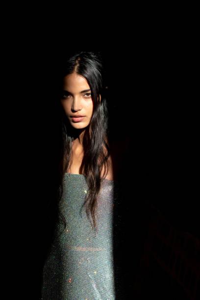 ITA: Sportmax - Backstage - Milan Fashion Week Fall/Winter 2021-2022