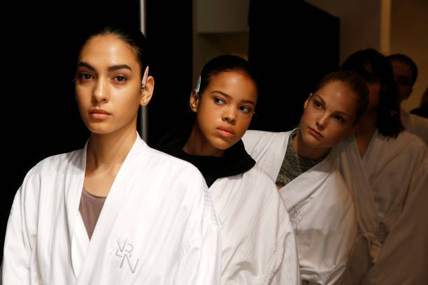 NY: Noon By Noor - Backstage - February 2020 - New York Fashion Week: The Shows