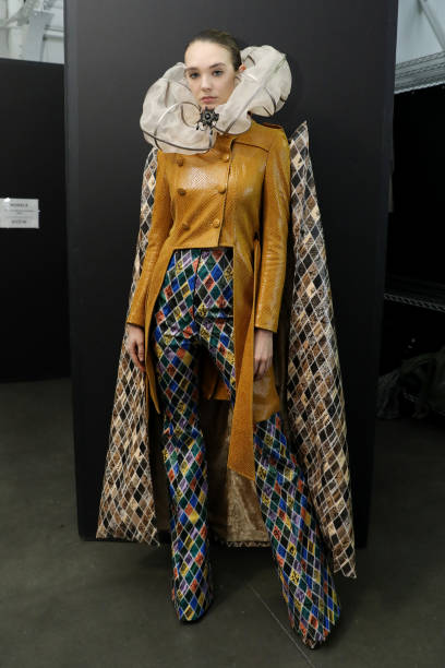 NY: Sheguang Hu - Backstage - February 2020 - New York Fashion Week: The Shows