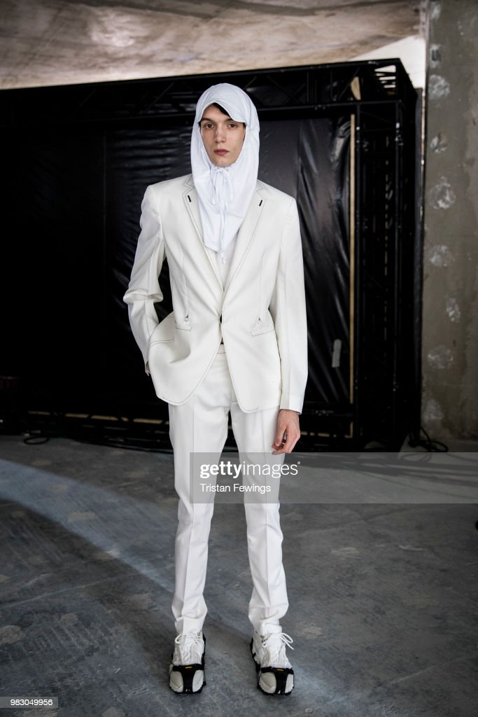 1017 ALYX 9SM: Backstage - Paris Fashion Week - Menswear Spring/Summer 2019