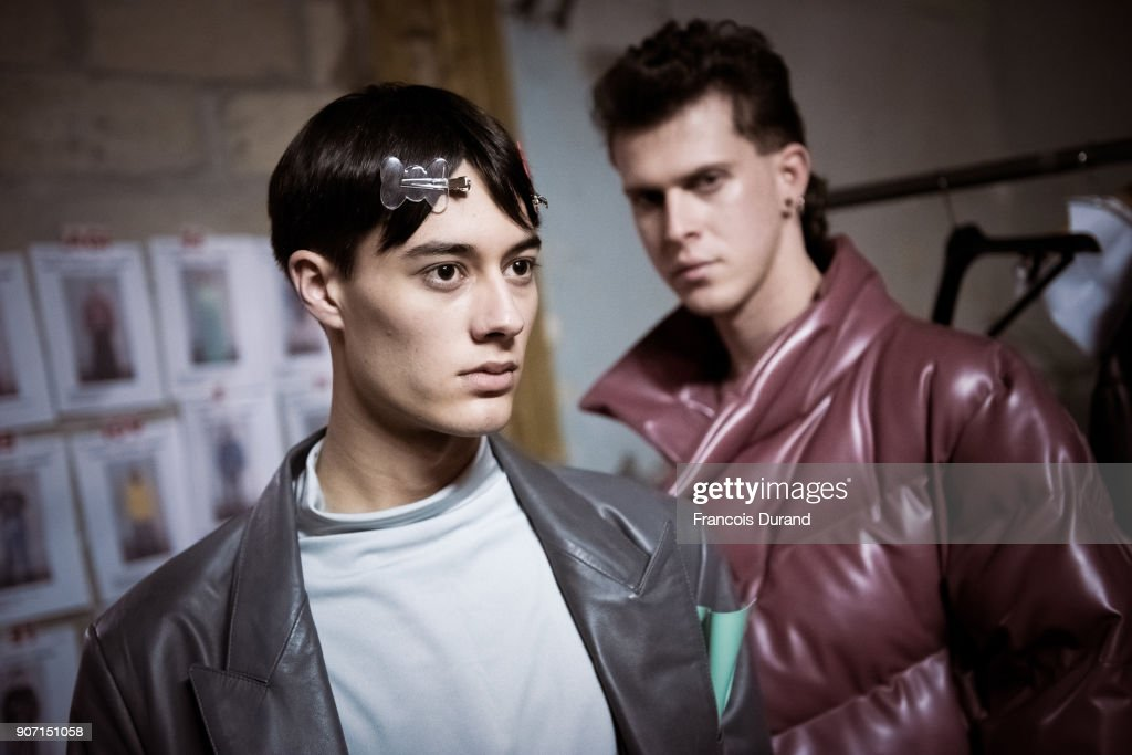 Arthur Avellano : Backstage - Paris Fashion Week - Menswear F/W 2018-2019
