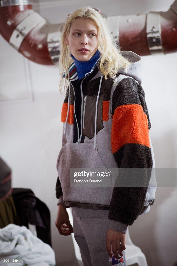 Facetasm : Backstage - Paris Fashion Week - Menswear F/W 2018-2019