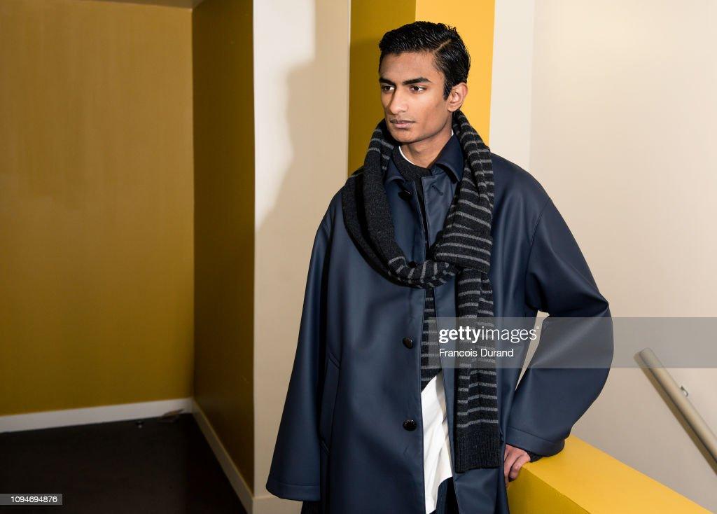 Fumito Ganryu : Backstage - Paris Fashion Week - Menswear F/W 2019-2020 : ニュース写真