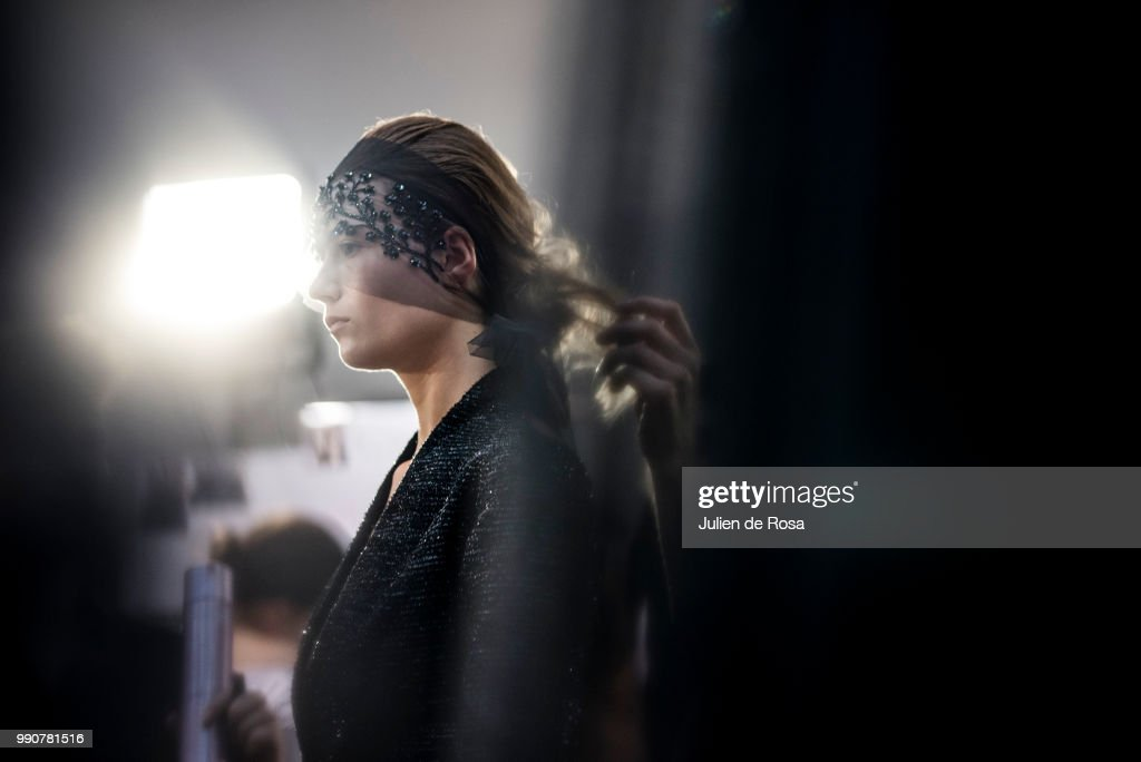 FRA: Georges Chakra : Backstage - Paris Fashion Week - Haute Couture Fall Winter 2018/2019