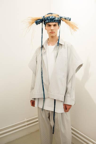 FRA: Hed Mayner : Backstage - Paris Fashion Week - Menswear Spring/Summer 2020