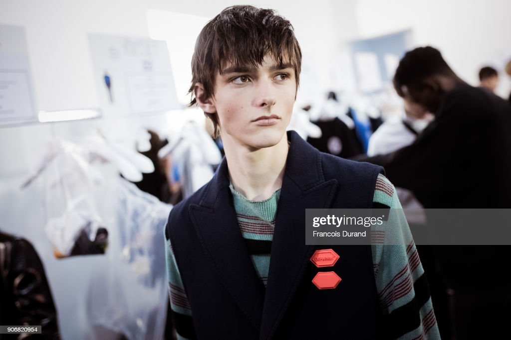 Off/White : Backstage - Paris Fashion Week - Menswear F/W 2018-2019