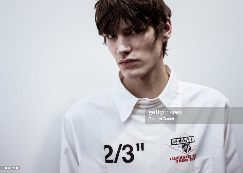 Off/White : Backstage - Paris Fashion Week - Menswear F/W 2018-2019