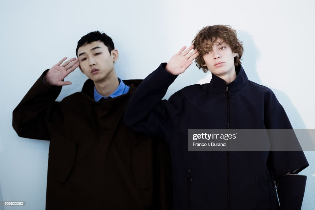 Beauty & Backstage -Paris Fashion Week - Menswear Fall Winter 2018-19