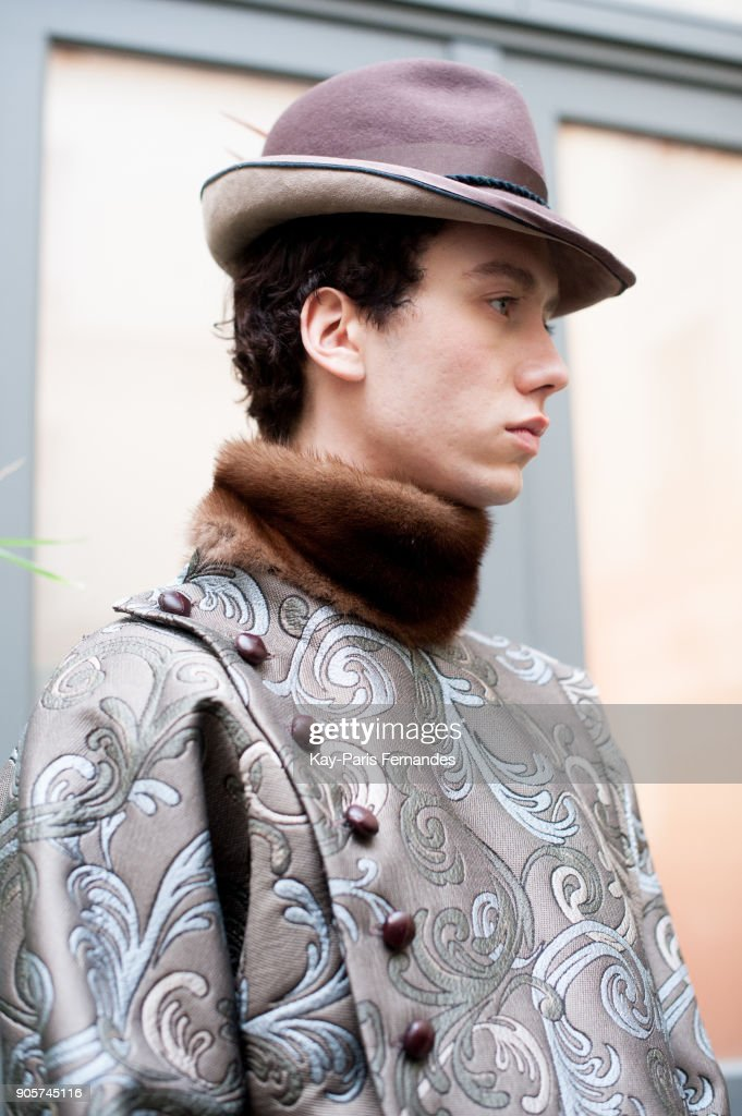 Palomo Spain : Backstage - Paris Fashion Week - Menswear F/W 2018-2019