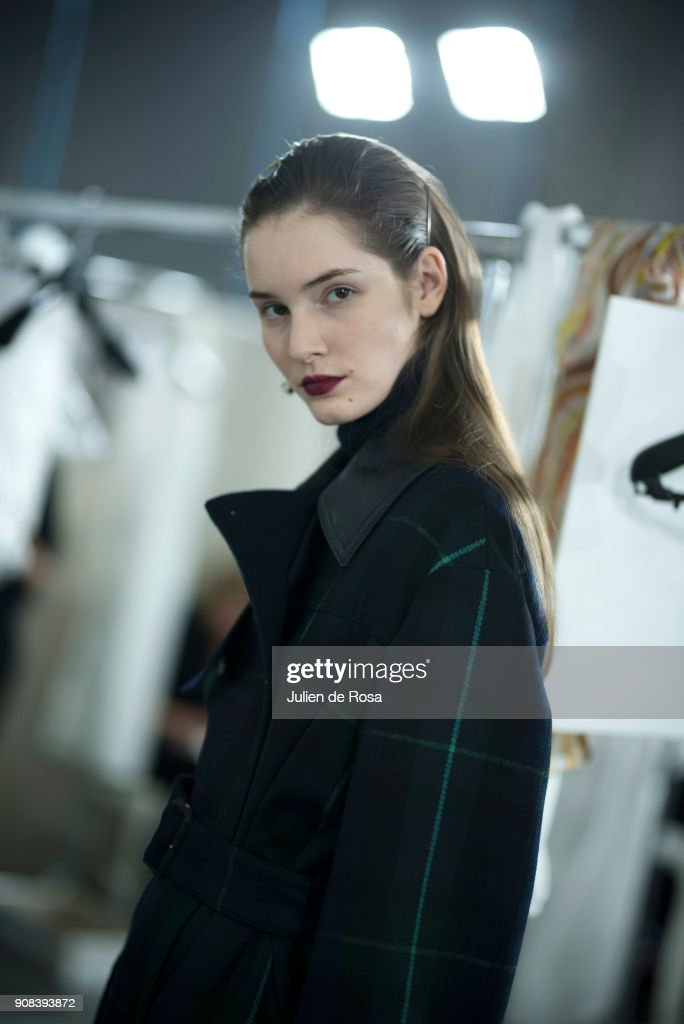 Paul Smith : Backstage - Paris Fashion Week - Menswear F/W 2018-2019