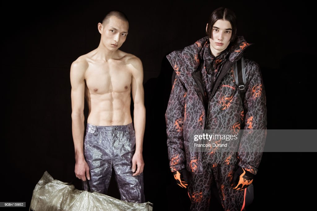 Sankuanz : Backstage - Paris Fashion Week - Menswear F/W 2018-2019