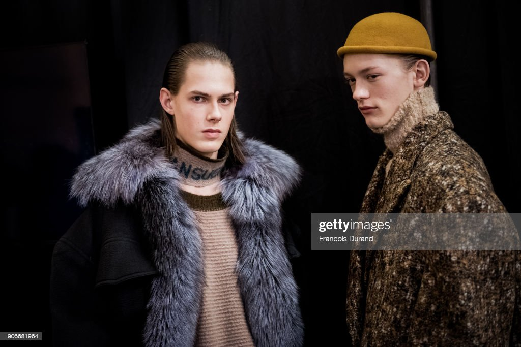 Sean Suen : Backstage - Paris Fashion Week - Menswear F/W 2018-2019