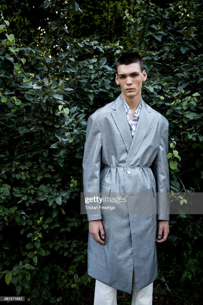 Sean Suen : Backstage - Paris Fashion Week - Menswear Spring/Summer 2019