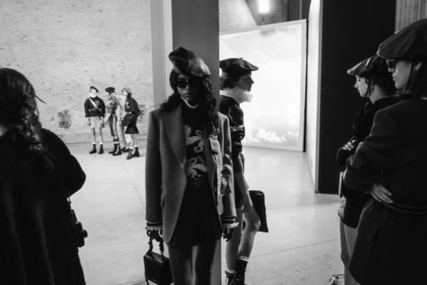 ITA: Philosophy By Lorenzo Serafini - Backstage - Milan Fashion Week Fall/Winter 2021-2022