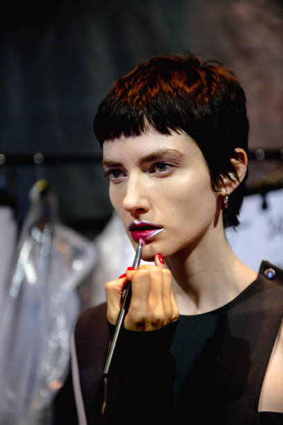 ITA: Salvatore Ferragamo - Backstage - Milan Fashion Week Fall/Winter 2021-2022