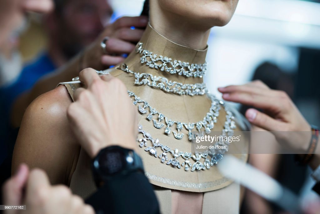FRA: Stephane Rolland : Backstage - Paris Fashion Week - Haute Couture Fall Winter 2018/2019