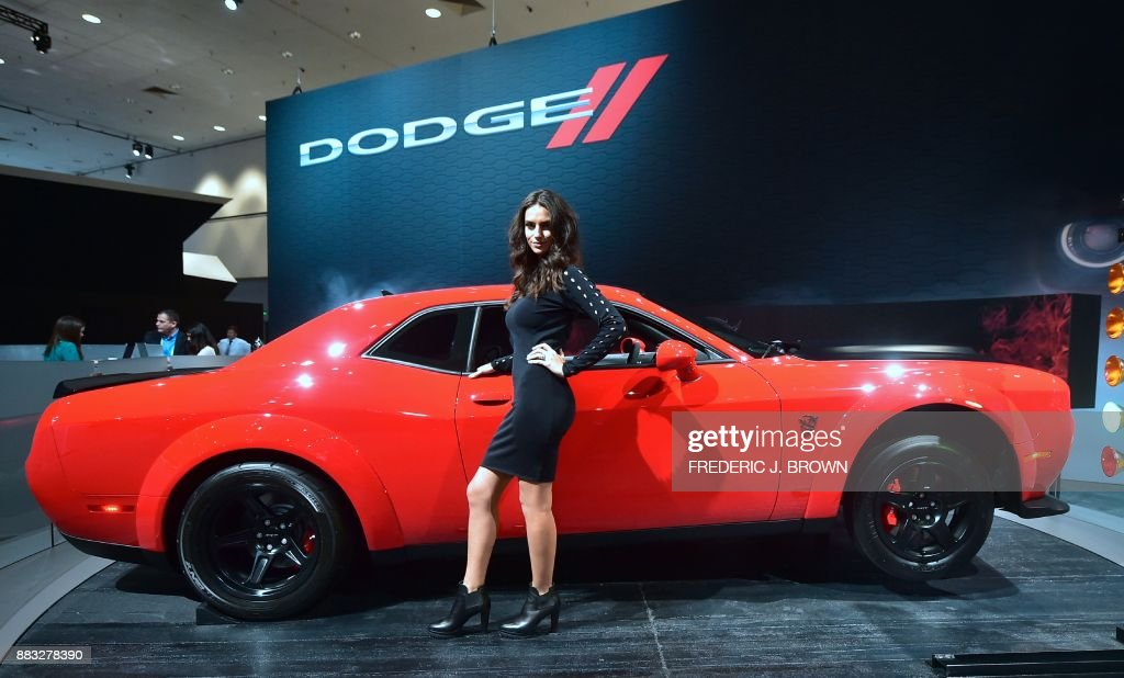 Dodge Challenger Srt Stock Photos And Pictures Getty Images - Dodge car show 2018